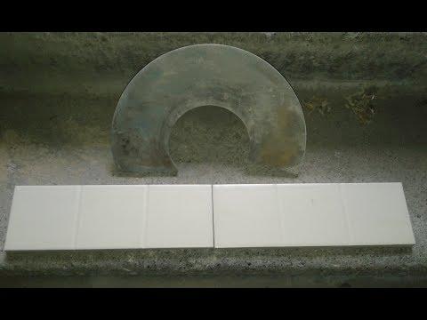 Резка плитки болгаркой без сколов