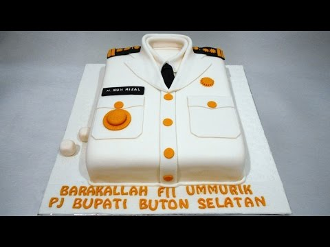 Regent Uniform - Cake Decoration