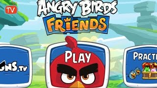 ANGRY BIRDS FRIENDS | Angry Birds Movie Tournament | Angry Birds Game Walkthrough