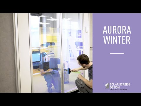 How To Install The Aurora Winter Film?