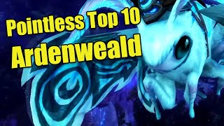 Pointless Top 10: Things in Ardenweald (Shadowlands Beta Zone)