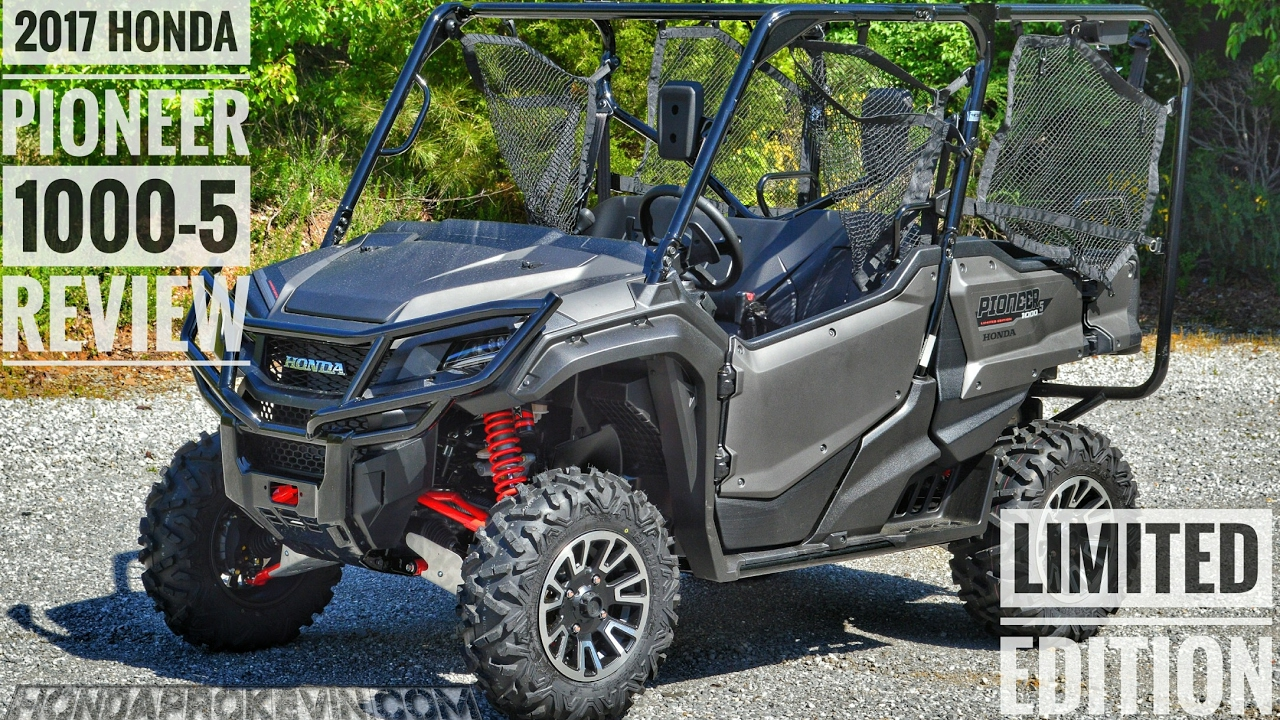 2018 honda pioneer 1000. contemporary honda 2017 honda pioneer 10005 limited edition review of specs u0026 features  utv  walkaround  sxs10m5le to 2018 honda pioneer 1000 p