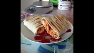 Fitness cooking Ep1 - Buffalo Chicken Panini.