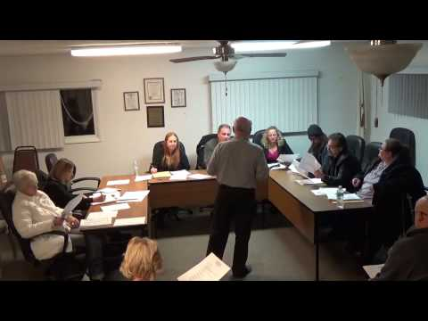 02/27/17 Village of Holiday Hills Board Meeting