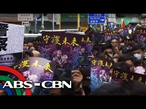 Pinoy arrested in Hong Kong for alleged protest participation | ANC