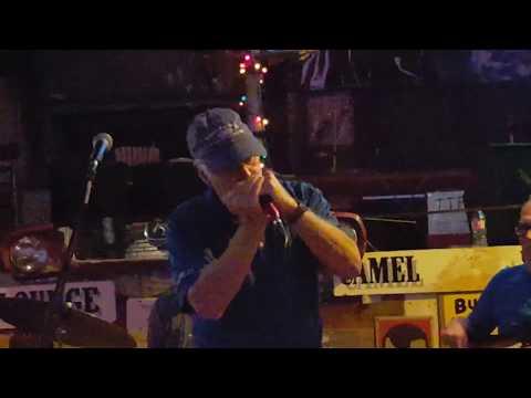 Blues harmonica jam in Clarksdale, MS