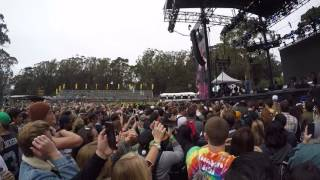 Outside Lands 2016 Jidenna performing Classic Man on Twin Peaks stage Friday