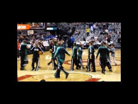 Boston Celtics Vs Toronto Raptors November 21 2010 我們結婚了