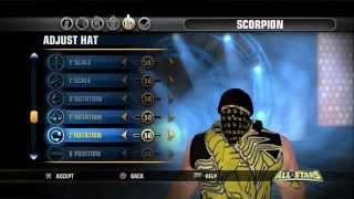 WWE All Stars (Scorpion MK How To)