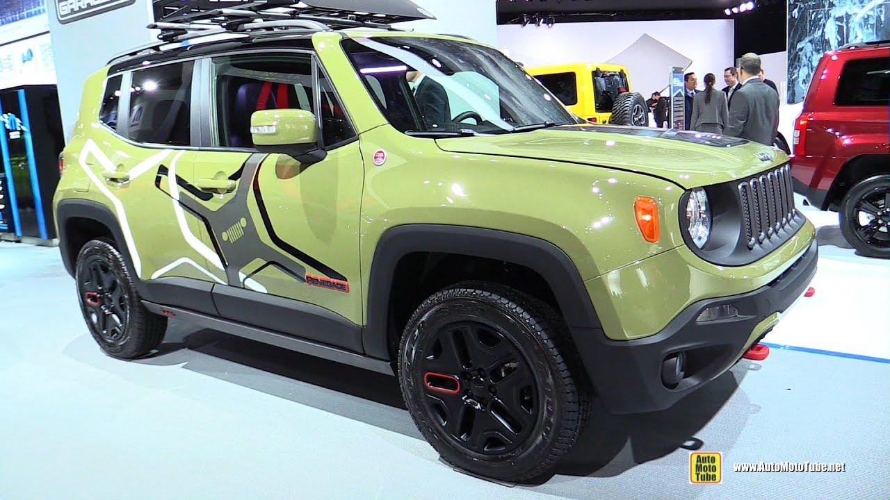 2015 Jeep Renegade Off-Road Mopar Equiped - Exterior ...