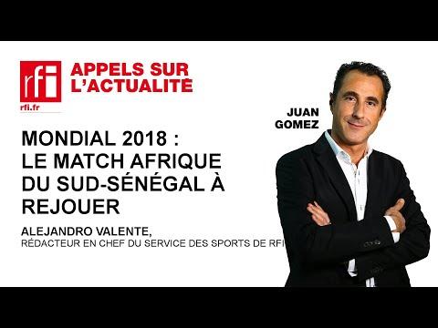Mondial 2018 : le match Afrique du Sud – Sénégal à rejouer
