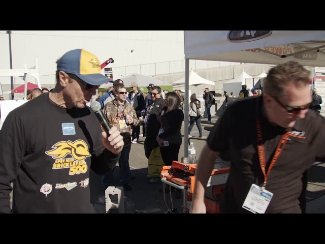 iQ Powertools at the 2019 SPEC MIX BRICKLAYER 500®