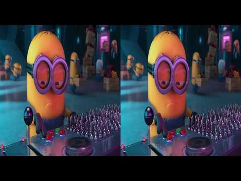 Despicable Me 2 Movie - 3D Clip: Jelly Testing Area
