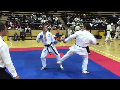 2015 Australian Titles: Male Open. GKR Karate
