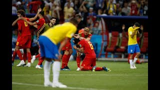 Brazil Crashes Out & Belgium Marches Into the Semifinals New video