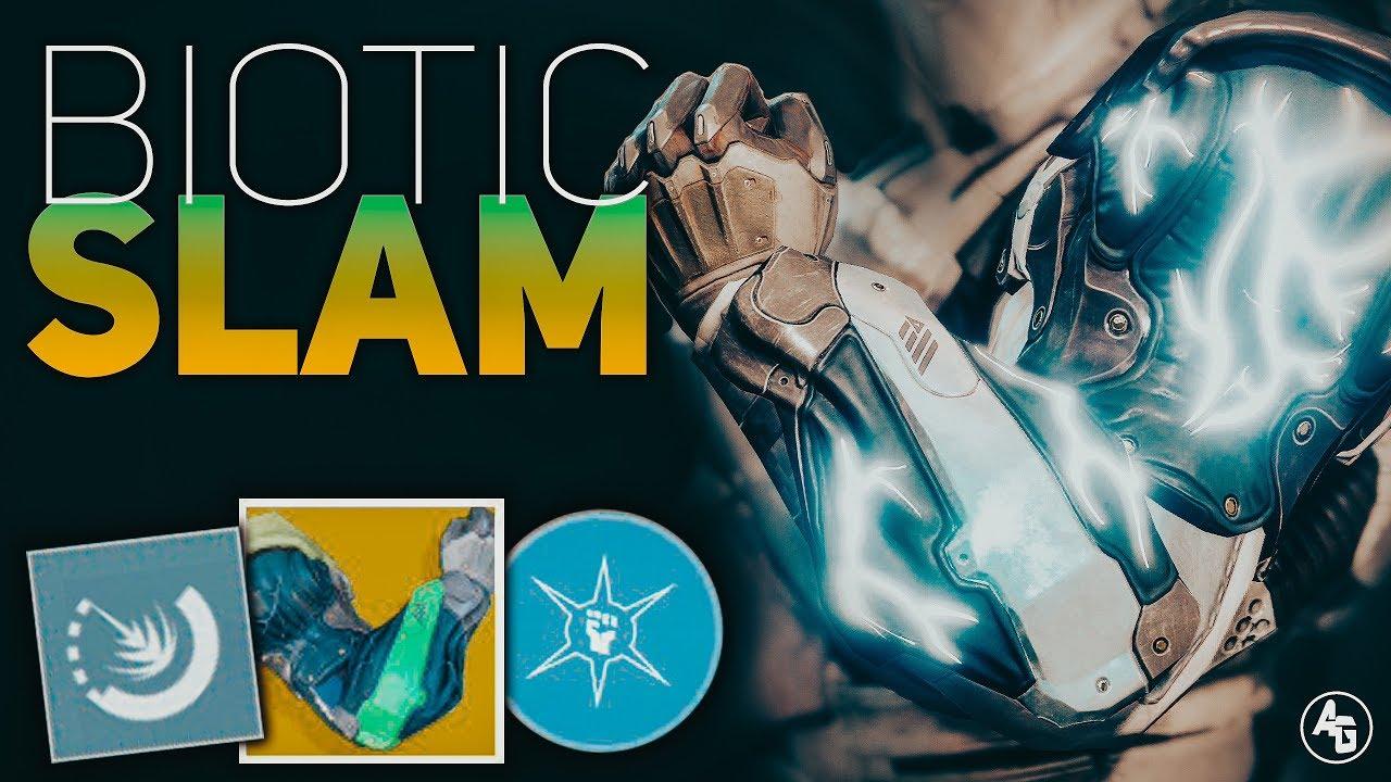 BEST Titan Synthocep Build (Biotic Slam)   Destiny 2 Forsaken