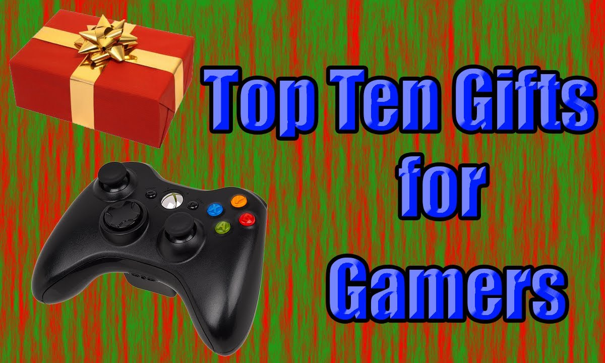 Gifts For Gamers Top Ten 2013