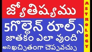 How to learn astrology in telugu step by step