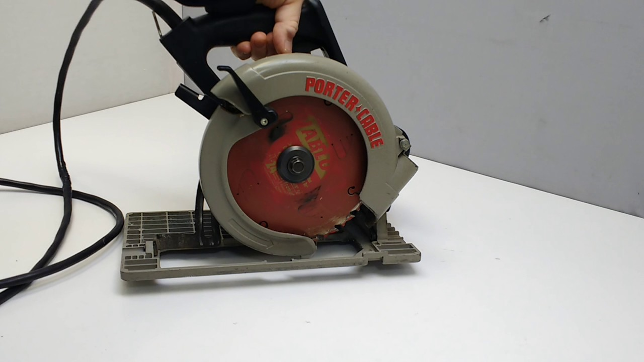 Porter cable 347 circular saw youtube porter cable 347 circular saw greentooth Choice Image