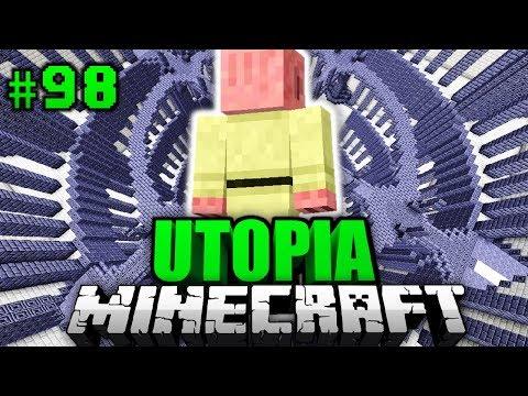 DAS war EIN GROßER FEHLER?! - Minecraft Utopia #098 [Deutsch/HD]