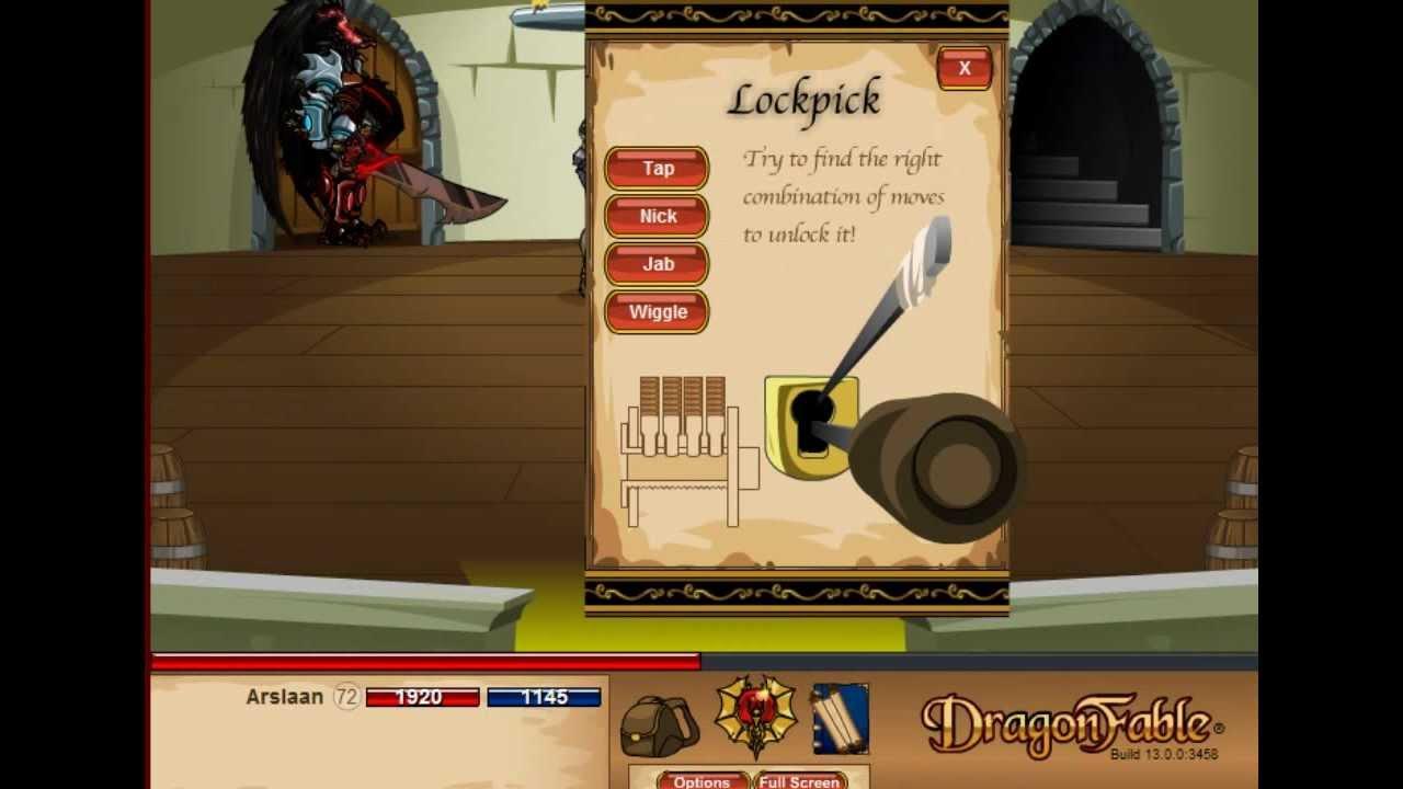 Webgame Dragon Fable Private Server 2