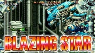 BLAZING STAR - NEGEO MVS LONGPLAY - WINDINA PLAYTHROUGH (FULL GAMEPLAY)