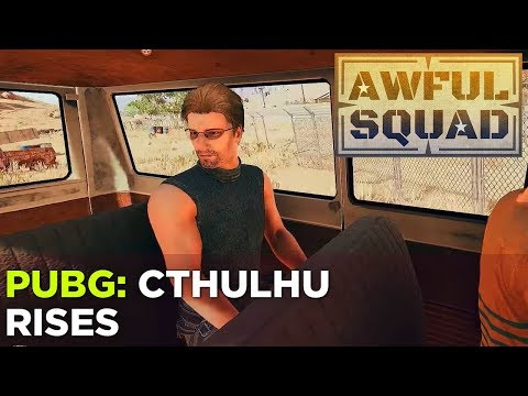 AWFUL SQUAD: Cthulhu Rises w Griffin, Simone, Justin, Jenna, Russ and Ab