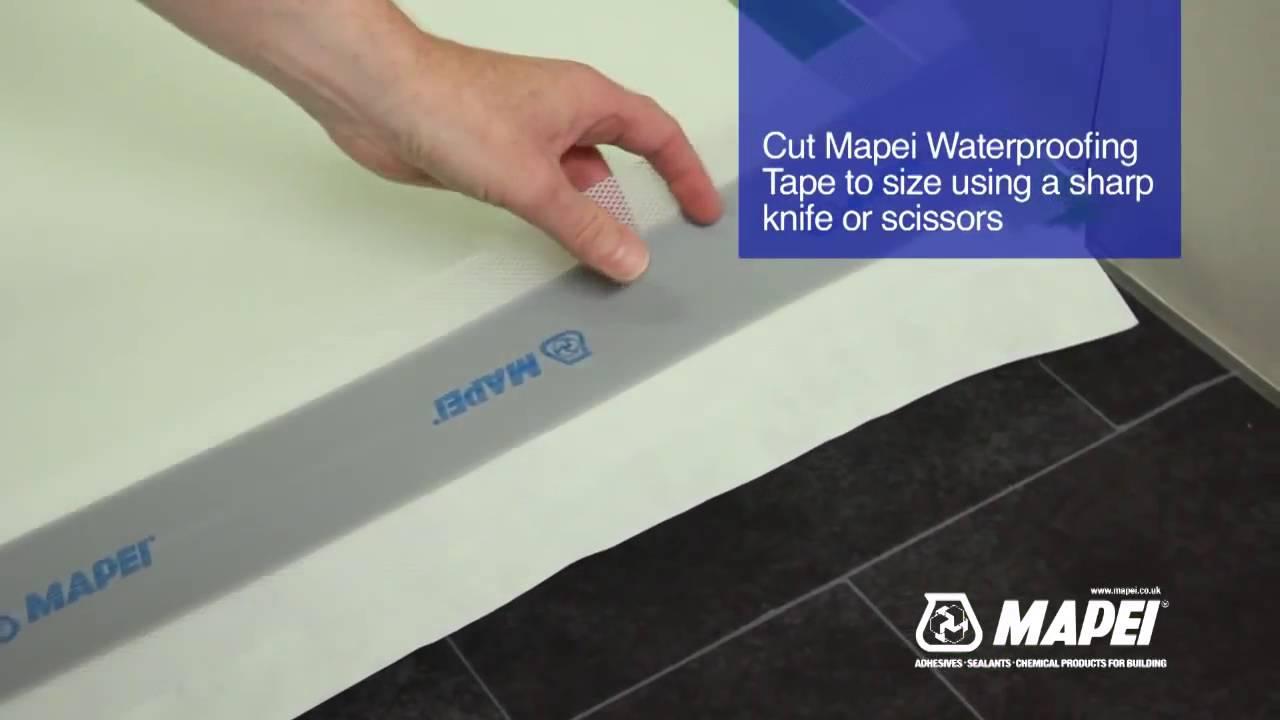 Beau Go Plumb Direct Mapei Shower Waterproofing Kit