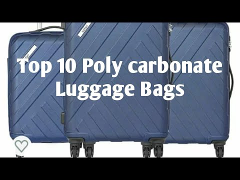 Top 10 Best Poly Carbonate Luggage Bags Available Online