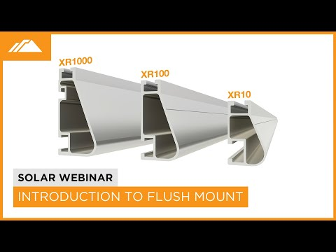 Introduction to IronRidge Roof Mount