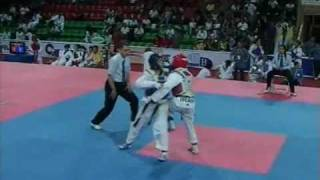 World Cup Taekwondo Team Championships 2009 Baku Female -54kh Morocco vs Iran