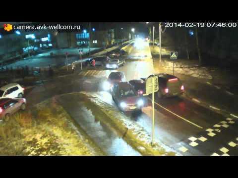 Авария, г. Лыткарино, 2-й квартал около д. 1, 19.02.2014