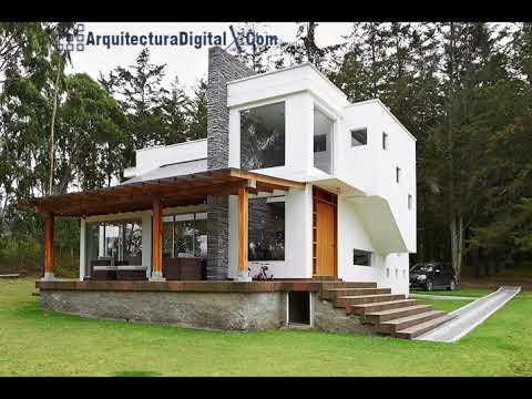 Dise os de fachadas de casas de campo r sticas y modernas for Disenos de casas de campo pequenas