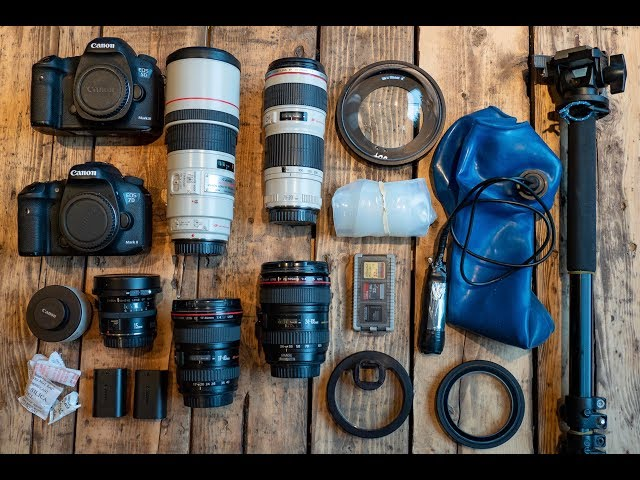 Adventure Photographer Ben Haggar 2018 - Camera Bag