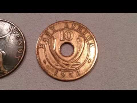 Coin of the day (#28) - 20th August 2014 - East Africa 10c