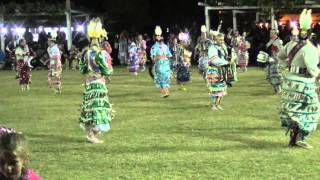 Jr. Womens Jingle @ Rocky Boy Powwow 2015 (Song 1)