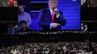 أخبار عالمية - ترامب يتقدم على منافسته هيلاري كلينتون لأول مرة