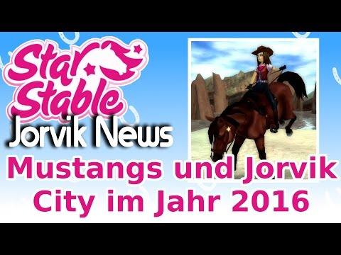 Star Stable Online Jorvik News | Mustangs und Jorvik City im Jahr 2016 | [deutsch]