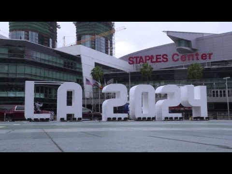 Olympic delegates launch LA 2024 inspection tour