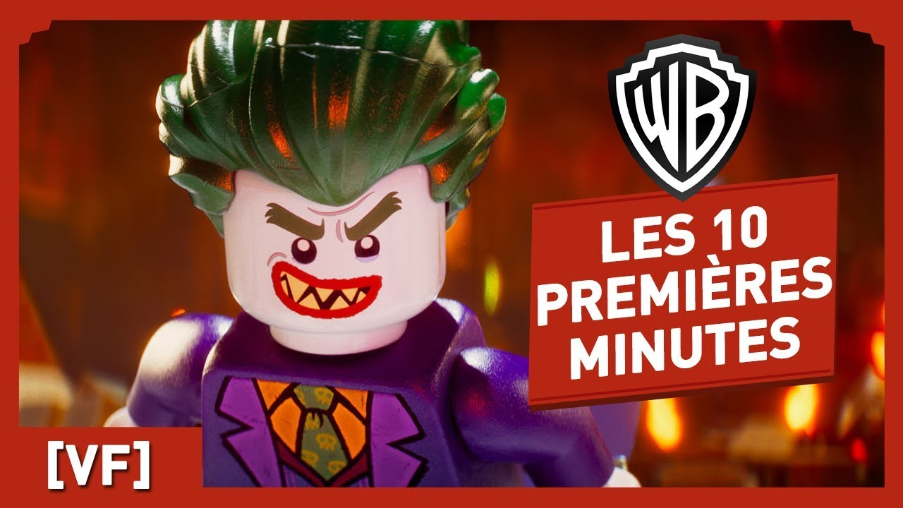 LEGO Batman, Le film - Regardez les 10 premières minutes du film !