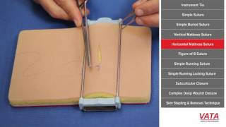 Suture Techniques Course Video
