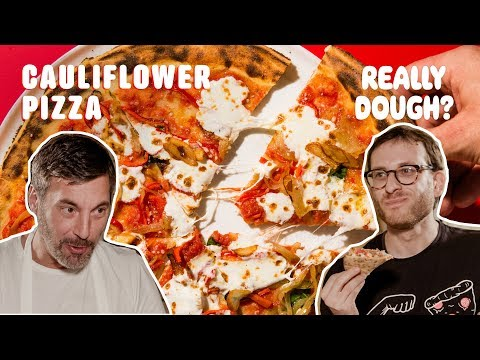 Cauliflower-Crust: Pizza or Health Fad? || Really Dough?