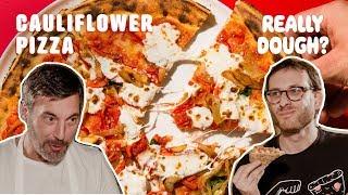Cauliflower-Crust: Pizza or Health Fad?    Really Dough?
