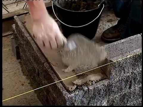 construction ma onnerie mur en brique parement fa ade stabobric dosage mortier roosens b tons. Black Bedroom Furniture Sets. Home Design Ideas