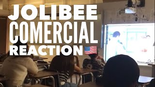 Jollibee Commercial #Vow - American Teen's reaction
