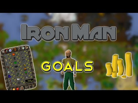 OSRS IronMan Goals 2017 - YouTube
