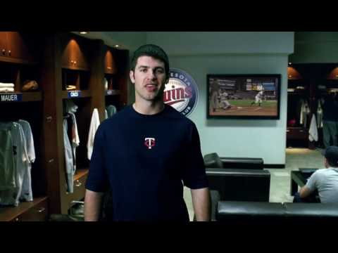 MLB 10 The Show TV Commercial (Joe Mauer) Playstation 3