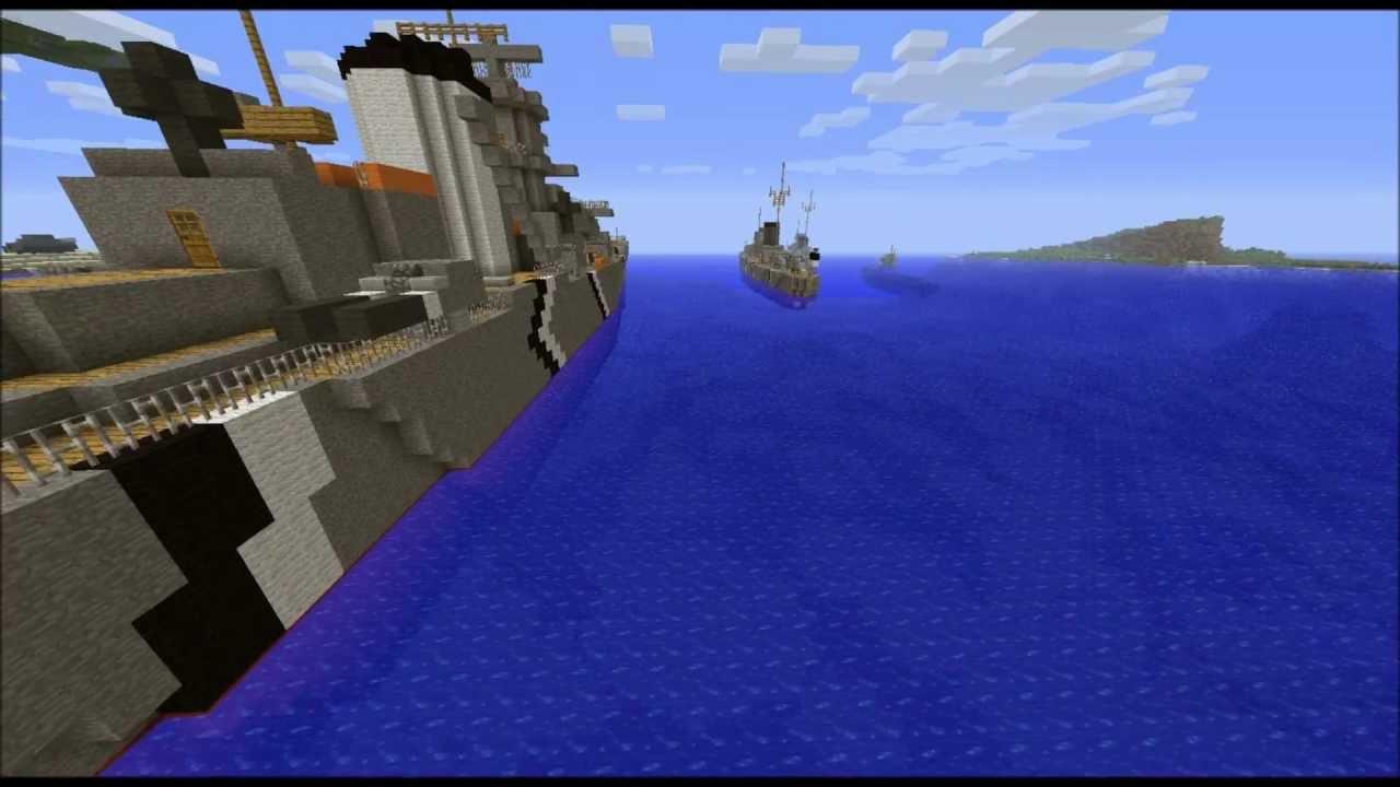 minecraft world war 2 map