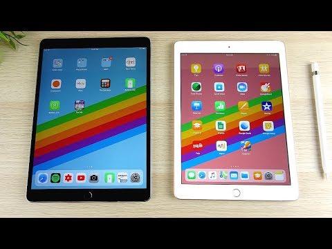iPad Pro 10.5 vs iPad 2018