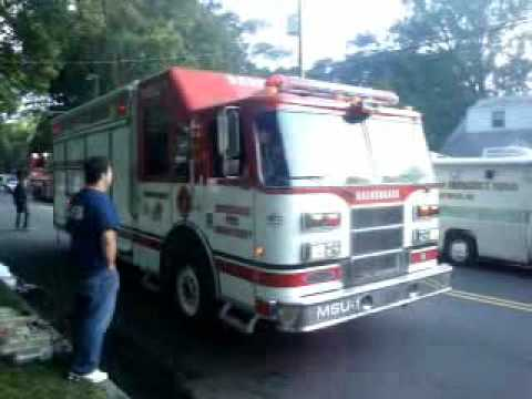 Maywood,nj FD *2nd alarm on arrival* 9/17/09  pt 2